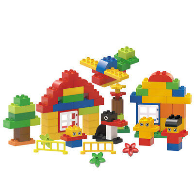 91Pcs Fun Building Blocks City DIY Creative Bricks Educational Toy Gift For Chil