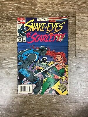 GI JOE Snake Eyes Vs Scarlett Issue 137