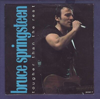"SP 45rpm 7"" / Bruce Springsteen tougher than the rest 1987"