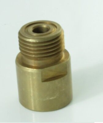 Adapter for SodaStream Cylinder Converts to US CGA320 CO2 Regulators a