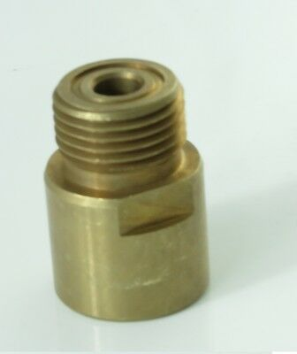 Adapter for SodaStream Cylinder Converts to US CGA320 CO2 Regulators b