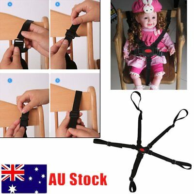 Universal Baby 5 Point Harness Safe Belt Seat Belts for Stroller High Chair ZD