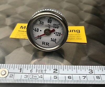 RR 024 Oil Thermometer BMW K75, K100, K1100, K1, Oiltemp Gauge, RR24, S RS Rt Lt