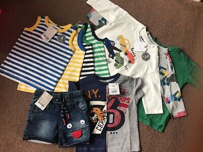 Boys Next Clothes Bundle Brand New With Tags 6-9 Months