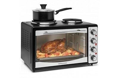 Andrew James Mini Oven - Excellent Condition - Oven & Hot Plates - Black