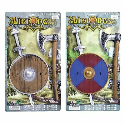 Bristol Novelty Viking Sword/Sheild/Axe Costume Accessory