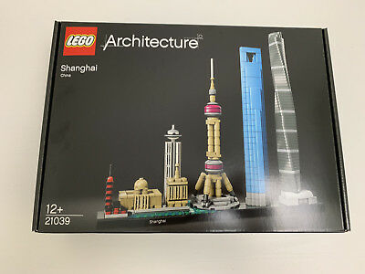 Genuine LEGO Architecture 21039 Shanghai China Complete IN BOX