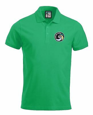 New York Cosmos 1970's Football Polo Sizes S-XXXL Embroidered Logo