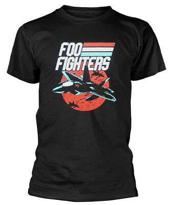 Foo Fighters 'Jets Black' T-Shirt - NEW & OFFICIAL!