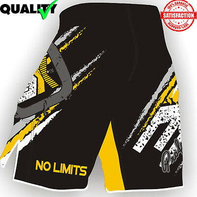 New Mma Fighting Shorts Ufc Cage Grappling Kick Boxing Muay Thai Martial Art