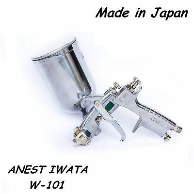 ANEST IWATA Spray Gun W-101 Gravity Feed Paint Spray Gun 1.0/1.3/1.5/1.8 HVLP