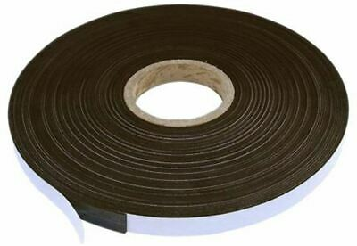 10m Magnetic Tape, Plain Back, 6.4mm Thickness