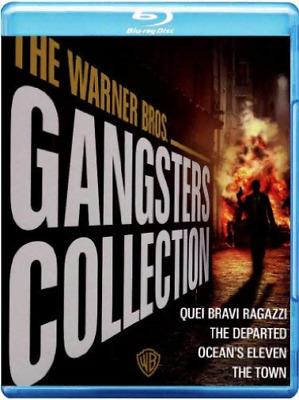Warner Bros. - Gangsters Collection (4 Blu-Ray) (UK IMPORT) BLU-RAY NEW