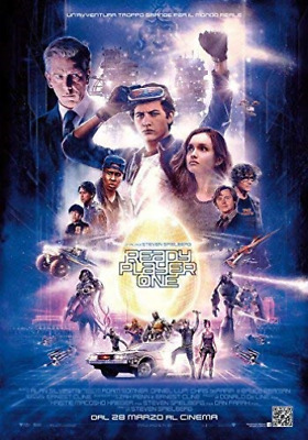 Movie-Ready Player One (UK IMPORT) DVD [REGION 2] NEW