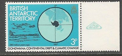 British Antarctic Territory #86 (A11) VF MNH - 1982 3p Land, Water