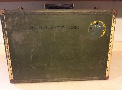 Vintage US Navy Seapack by Hartmann Military Suitcase