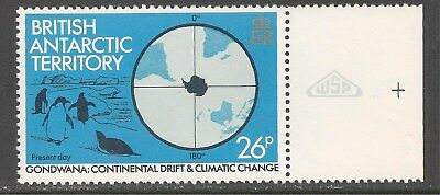 British Antarctic Territory #91 (A11) VF MNH  1982 26p Penguins / Climate Change