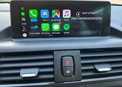 Bmw Nbt Evo Id5 Id6 Apple Carplay Activation & Android Screen Mirroring & Vim