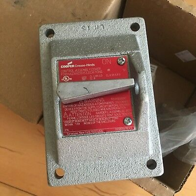 DSD933 Crouse Hinds Explosion proof switch assembly