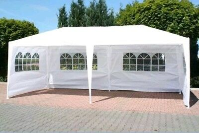 MODERN STRONG FoxHunter 6M x 3M Party Tent Marquee TWO SUPPORT BEAMS Waterproof