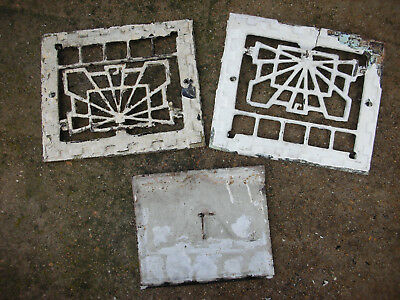 Ornate Vintage / Antique Cast Iron Heating Grate / Vent, parts