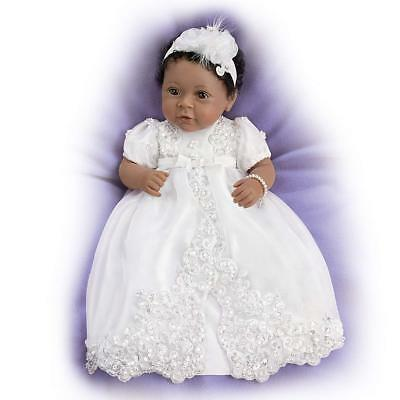 ASHTON DRAKE - We Dedicate This Child To The Lord So Truly Real Baby Girl Doll