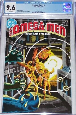 Omega Men #10 CGC graded 9.6 from Jan 1984 1st full Lobo story