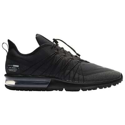 Nike Air Max Sequent 4 Utility Black/Anthracite Triple Mens Running 2018 All NEW