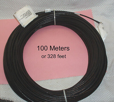 NEW 320 Feet 100 Meters Coaxial Cable w/ N-Male to N-Male  *LOOK*