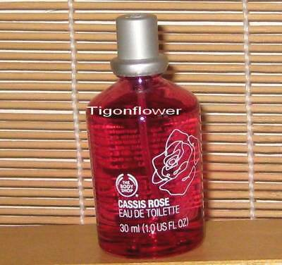 The Body Shop CASSIS ROSE Eau De Toilette 1 oz 30 ml Perfume