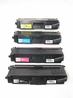 Genuine Brother Tn331Bk Tn331C Tn331Y Tn331M Toner Set (4-Pack)