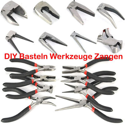 8PCS Mini Pliers Precision Jewellery Beading Electricians Craft Hobby DIY Tools