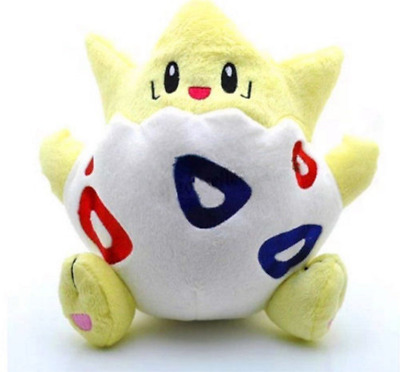 "8"" Anime Pocket Monster Pokemon Togepi Rare Soft Stuffed Plush Cute Toy Doll new"