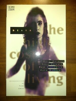 Death: The High Cost of Living Trade Paperback #1 VF/NM DC comics
