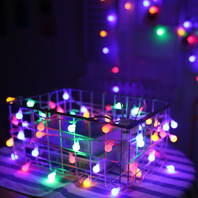 5/10M Christmas String Lights Wedding Xmas Party Decor Outdoor Indoor Lamp