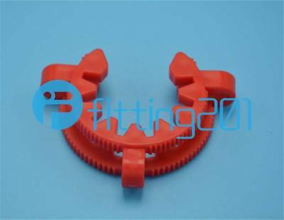 10 Pieces Lot 24# lab plastic keck clamp Standard clamp New