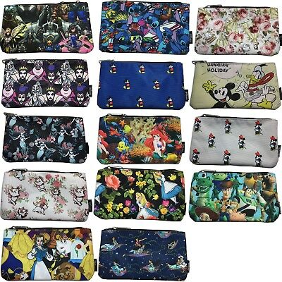 Loungefly Disney, Animation, Game Coin/cosmetic Pencil Bag