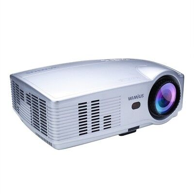 Projector, WIMIUS T4 HD LED Video Projector