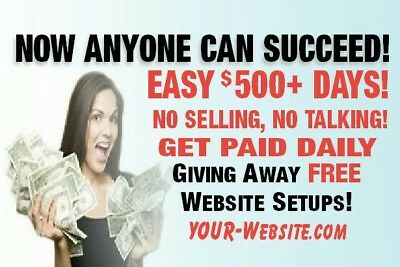 Help Wanted Earn Up To $4,000!FREE WEBSITE + FREE ADVERTISING + DIRECT DEPOSIT!!