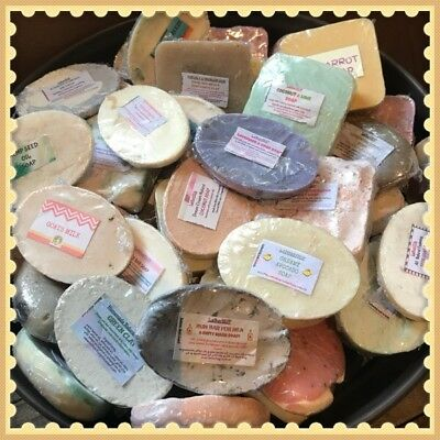 12 Sample Soaps Per Pack, Handmade, Natural & Organic