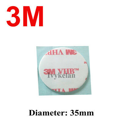 3M VHB 4910 Clear Acrylic Foam Double Side Adhesive Tape 35mm Round Phone Holder