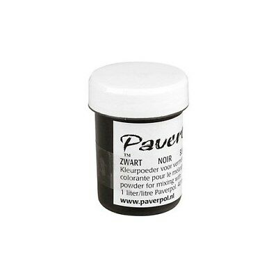 Pavercolor, black, 40ml [HOB-39310]