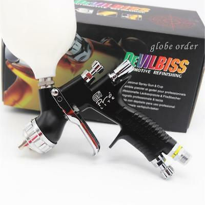 Devilbiss GTI Pro Black High Quality Professional T110 Spray Gun 1.3mm Nozzle