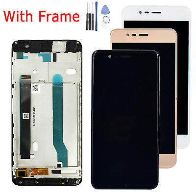 Display LCD Touch Screen Digitizer + Frame per Asus Zenfone 3 Max ZC520TL X008D