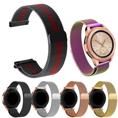 Stainless Steel Mesh Watch Band Milanese Loop Magnetic Strap For MK Smart Watch