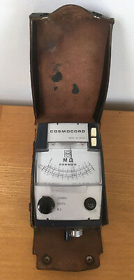 Vintage Acos FA9127 Cosmocon Japanese Sound Level Meter With Case RARE