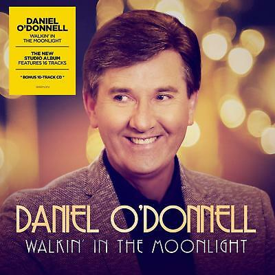 Daniel O'donnell Walkin' In The Moonlight 2 Cd 2018