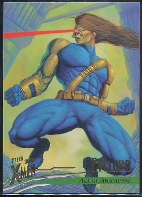 1996 X-Men Ultra Wolverine Trading Card #84 Cyclops