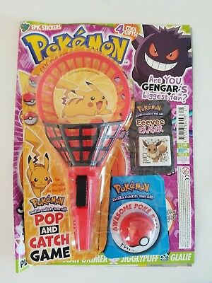 Pokemon Official Magazine Issue 21 With Free Gifts