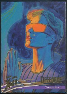 1996 X-Men Ultra Wolverine Trading Card #93 Lifeforce